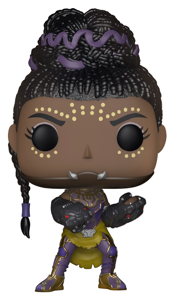 Фигурка Marvel Black Panther Funko POP: Shuri Bobble-Head (9,5 см) фигурка marvel black panther funko pop black panther bobble head 9 5 см