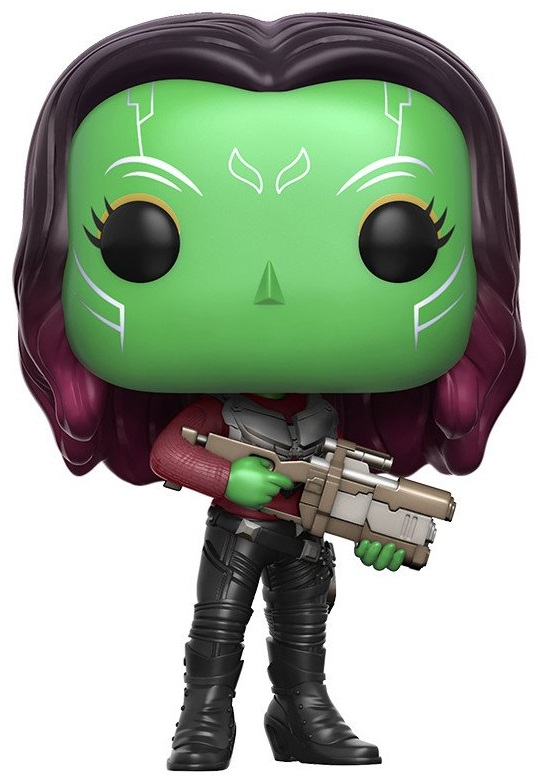 Фигурка Funko POP Marvel: Guardians Of The Galaxy Vol. 2 – Gamora Bobble-Head (9,5 см) фигурка funko pop bobble marvel black panther nakia