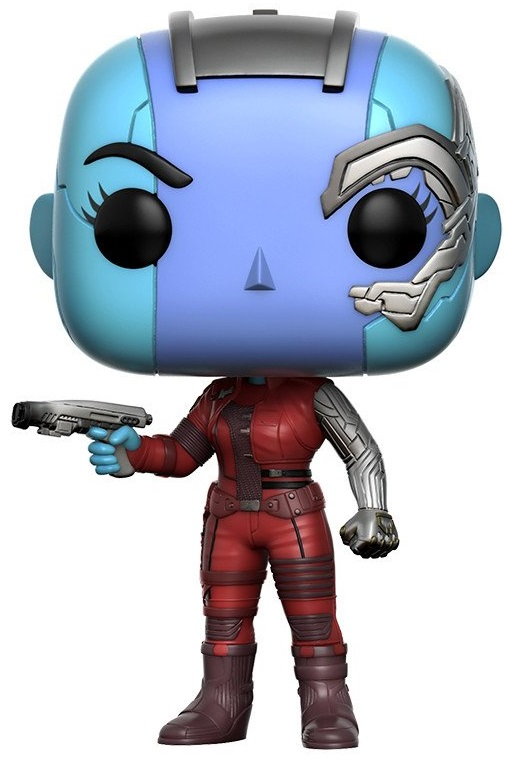 Фигурка Marvel Guardians Of The Galaxy Vol. 2 Funko POP: Nebula Bobble-Head (9,5 см) майка классическая printio guardians of the galaxy vol 2