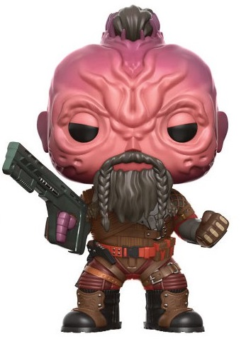 Фигурка Funko POP Marvel: Guardians Of The Galaxy Vol. 2 – Taserface Bobble-Head (9,5 см) фигурка funko pop bobble marvel black panther nakia