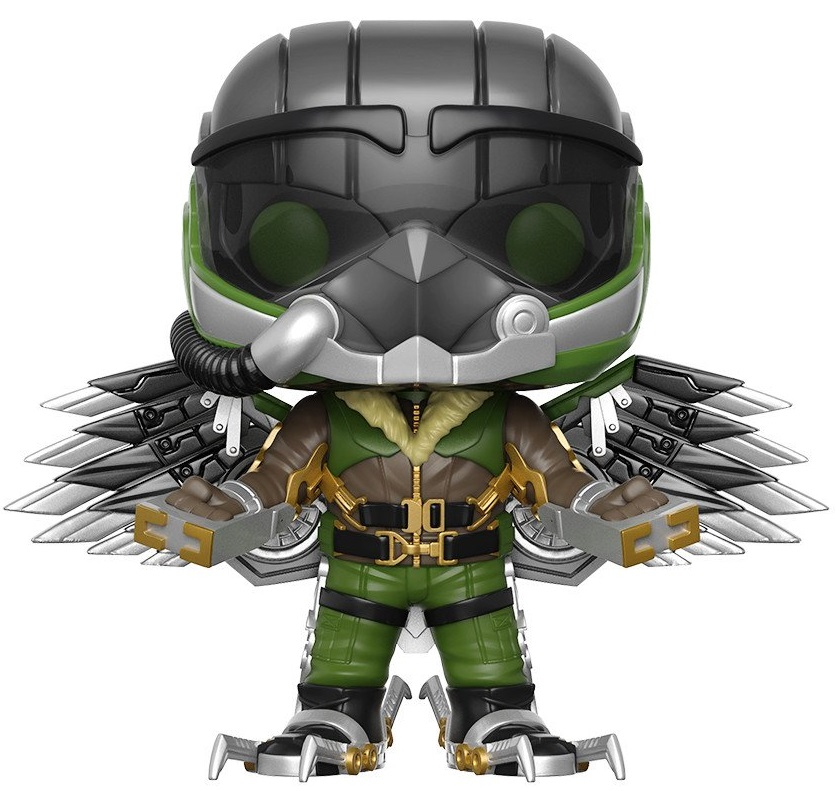 Фигурка Funko POP Marvel: Spider-Man Homecoming – Vulture Bobble-Head (9,5 см) фигурка funko pop bobble marvel black panther nakia
