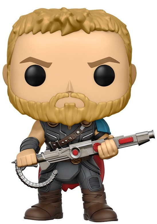Фигурка Marvel Thor Ragnarok Funko POP: Thor Bobble-Head (9,5 см)Фигурка Marvel Thor Ragnarok Funko POP: Thor Bobble-Head создана по мотивам американского художественного фильма 2017 года режиссёра Тайка Вайтити «Тор: Рагнарёк», снятого по комиксам Стэна Ли, Джека Кёрби и Ларри Либера.<br>