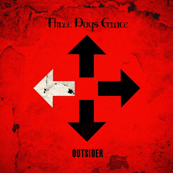 Three Days Grace – Outsider (CD) three days grace – outsider cd