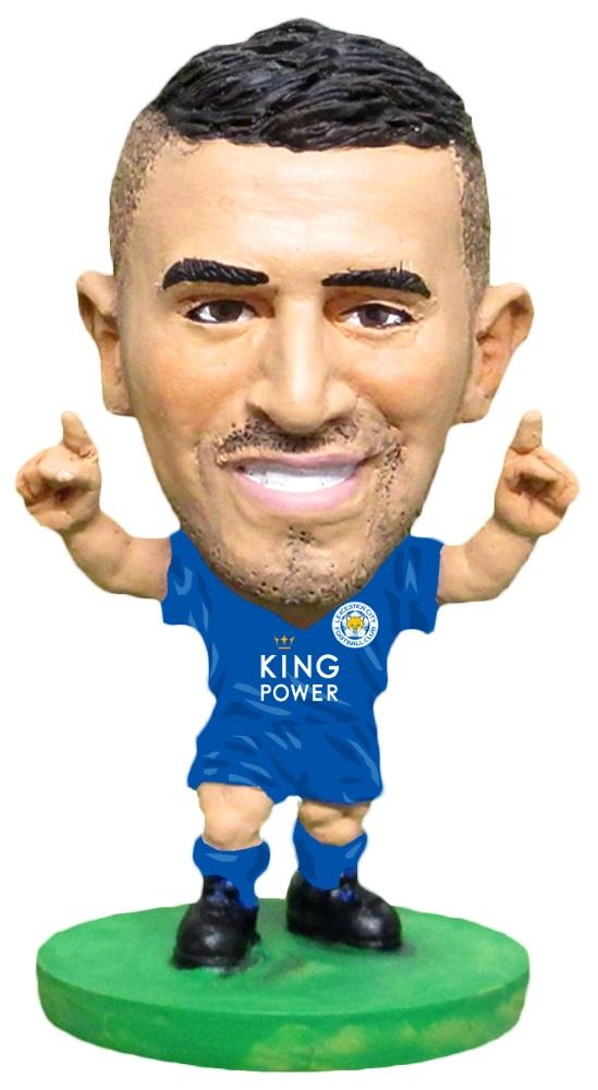Фигурка Leicester: Riyad Mahrez Home (Classic)Фигурка Leicester: Riyad Mahrez Home (Classic) воплощает алжирского футболиста, крайнего полузащитника клуба Премьер-лиги «Лестер Сити» и национальной сборной Алжира, Рияда Махреза.<br>