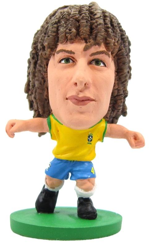 Фигурка Brazil: David Luiz HomeФигурка Brazil: David Luiz Home воплощает бразильского футболиста, центрального защитника клуба «Челси» и сборной Бразилии, Давида Луиса.<br>