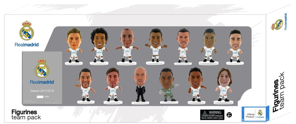 Набор фигурок Real Madrid: 13 Player Team ранцы target ранец цвета fc real madrid реал мадрид