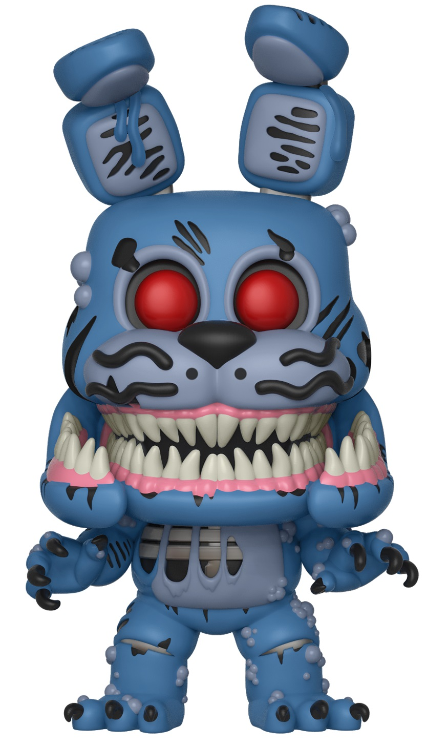 Фигурка Five Nights At Freddys The Twisted Ones Funko POP Books: Twisted Bonnie (9,5 см)Фигурка Five Nights At Freddys The Twisted Ones Funko POP Books: Twisted Bonnie создана по мотивам хоррор-повести, написанной Скоттом Коутоном и Кирой Брид-Рисли.<br>