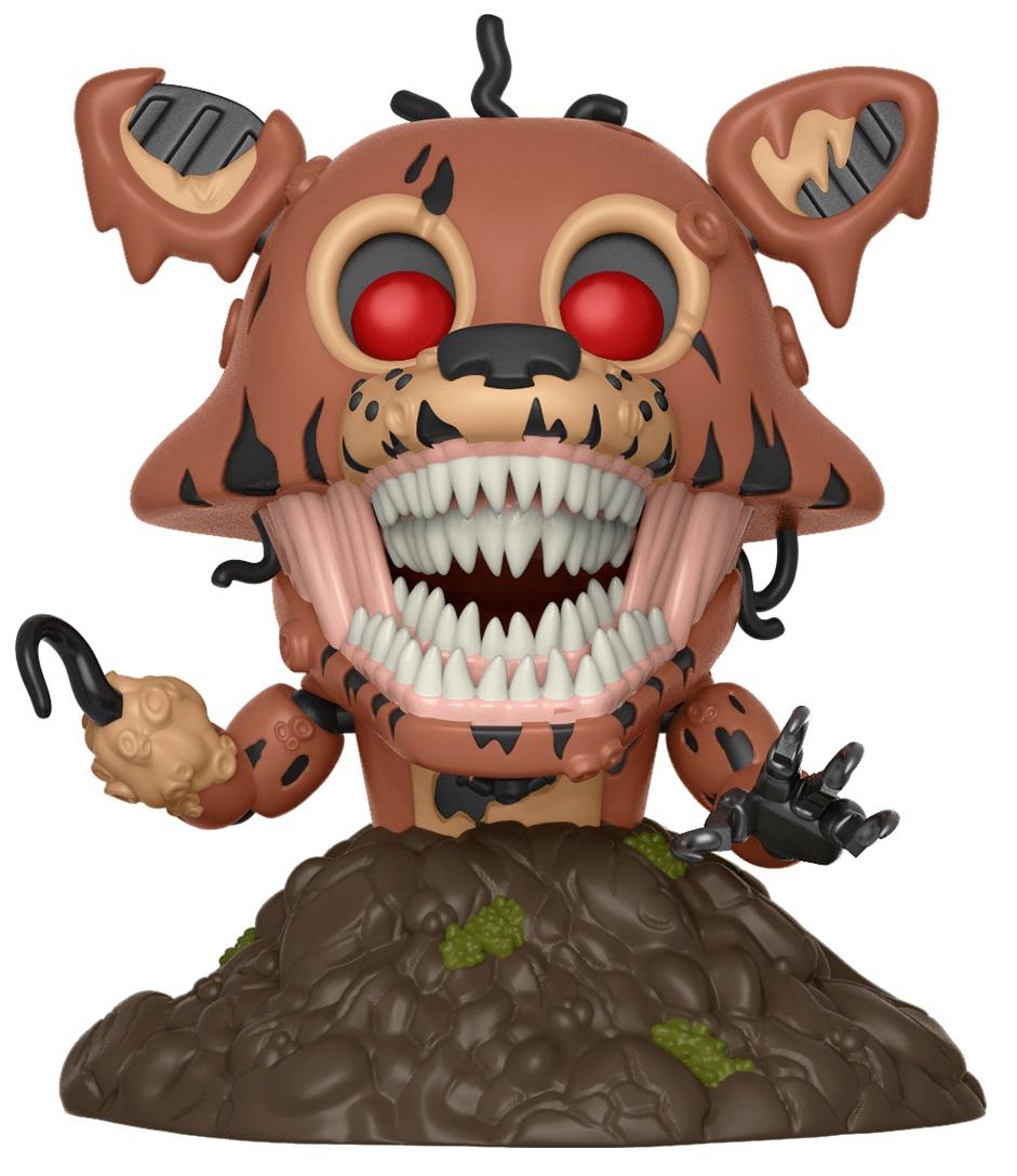Фигурка Five Nights At Freddys The Twisted Ones Funko POP Books: Twisted Foxy (9,5 см)Фигурка Five Nights At Freddys The Twisted Ones Funko POP Books: Twisted Foxy создана по мотивам хоррор-повести, написанной Скоттом Коутоном и Кирой Брид-Рисли.<br>