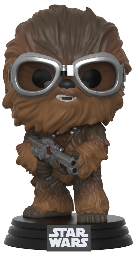 Фигурка Star Wars Solo Funko POP: Chewbacca With Goggles Bobble-Head (9,5 см) фигурка funko pop bobble marvel black panther nakia