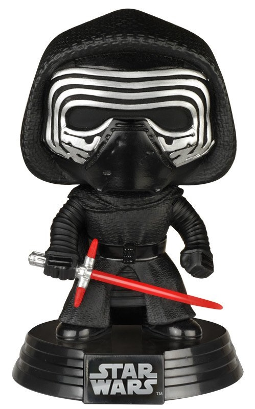 Фигурка Star Wars Episode VII The Force Awakens Funko POP: Kylo Ren Bobble-Head (9,5 см) stzhou lepin 05006 star 1053pcs toys wars the force awakens kylo ren command shuttle model building kits blocks bricks boy gift