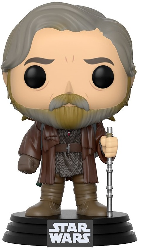 Фигурка Funko POP: Star Wars Episode VIII The Last Jedi – Luke Skywalker Bobble-Head (9,5 см) building blocks star wars the force awakens phasma storm jedi clone trooper luke skywalker bricks model toys for children xh 146