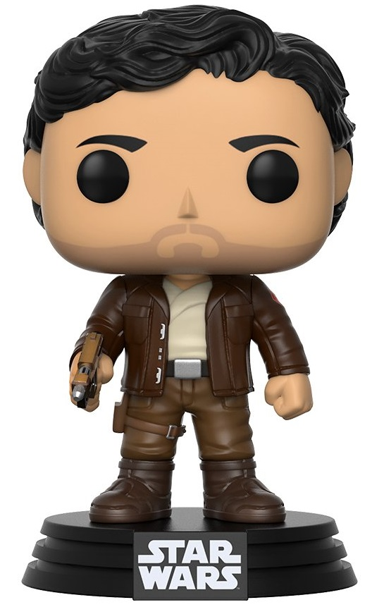 Фигурка Star Wars Episode VIII The Last Jedi Funko POP: Poe Dameron Bobble-Head (9,5 см) фигурка funko pop bobble marvel black panther nakia