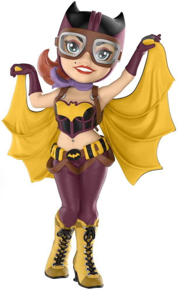 Купить со скидкой Фигурка Funko Rock Candy: DC Comics Bombshells – Batgirl (12,5 см)