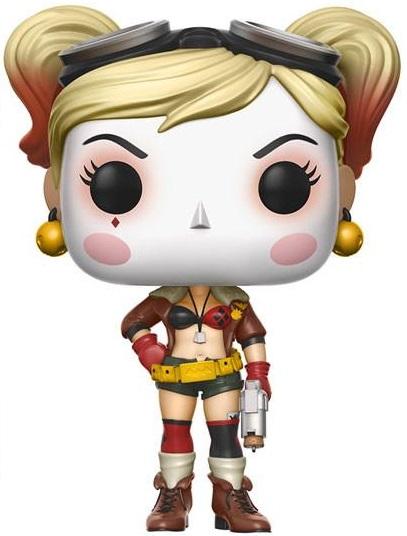 Фигурка DC Comics Bombshells Funko POP Heroes: Harley Quinn (9,5 см) фигурка funko pop heroes justice league batman 9 5 см
