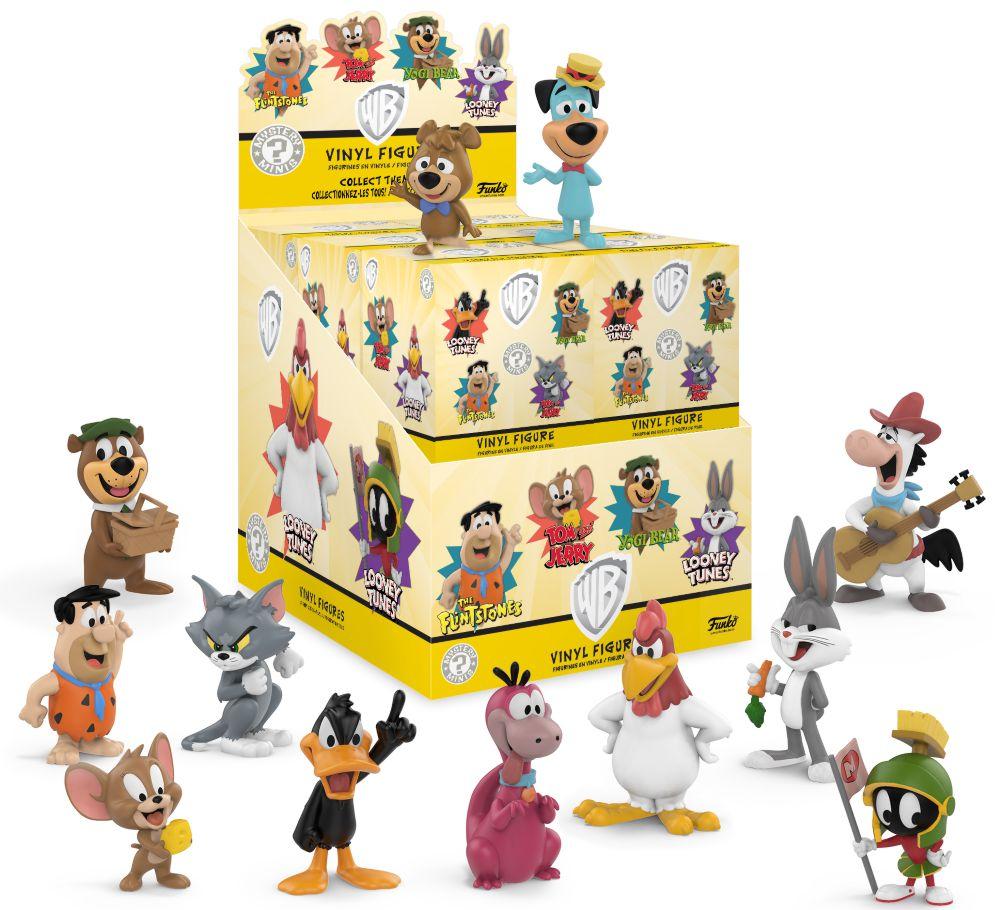 Фигурка Warner Bros. Cartoons: Mystery Minis Blind Box (в ассортименте)Фигурки Warner Bros. Cartoons: Mystery Minis Blind Box созданы по мотивам классических мультфильмов Warner Bros.<br>