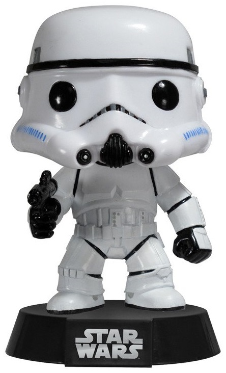 Фигурка Star Wars Funko POP: Stormtrooper Bobble-Head (9,5 см) фигурка funko pop bobble marvel black panther nakia