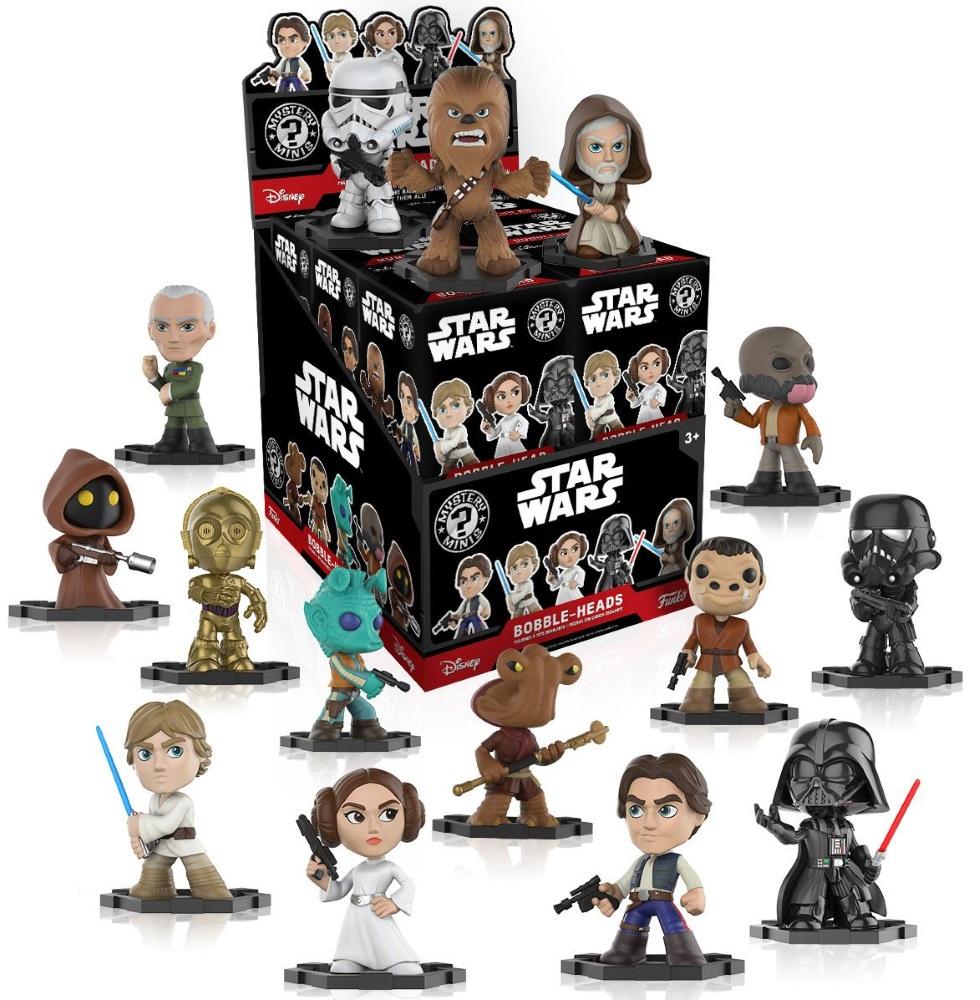 Фигурка Star Wars: Mystery Minis Blind Box (в ассортименте) hasbro star wars b3831 звездные войны лихачи в ассортименте