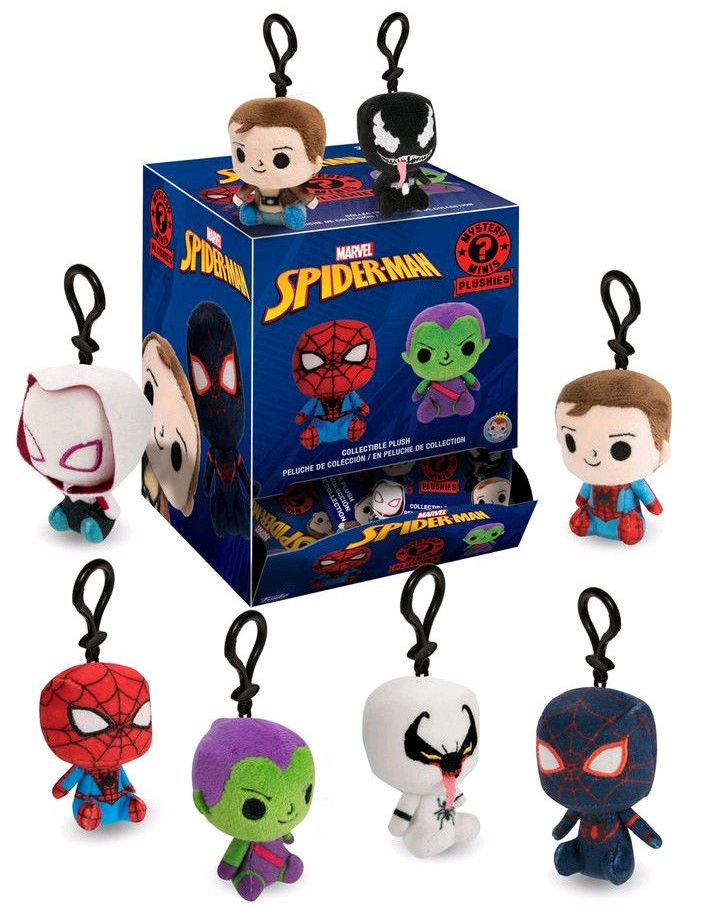 Мягкая игрушка Marvel Spider-Man: Mystery Minis Blind Box (в ассортименте)