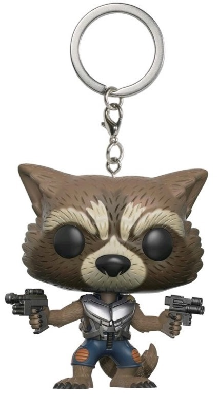 Брелок Marvel Guardians Of The Galaxy 2 Funko POP: Rocket майка классическая printio guardians of the galaxy vol 2