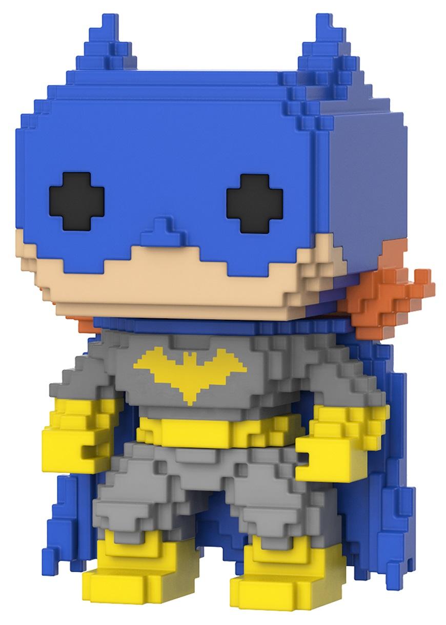Фигурка DC Super Heroes Funko POP 8-Bit: Batgirl Blue (9,5 см) фигурка funko pop heroes justice league batman 9 5 см
