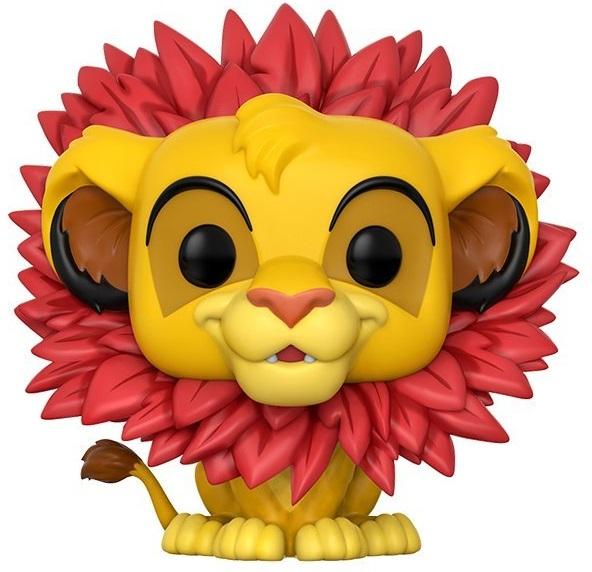 Фигурка Funko POP: Disney The Lion King – Simba Leaf Mane (9,5 см) фигурка funko pop disney beauty and the beast – beast 9 5 см