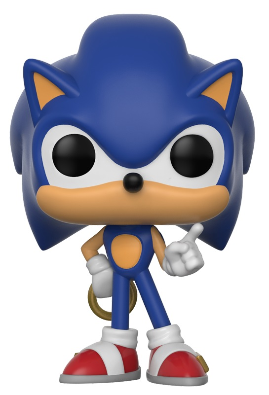 Фигурка Sonic The Hedgehog Funko POP Games: Sonic With Ring (9,5 см) sonic