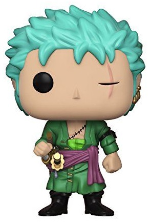 Фигурка One Piece Funko POP Animation: Roronoa Zoro (9,5 см) 30cm one piece big size roronoa zoro anime action figure pvc new collection figures toys collection for christmas gift