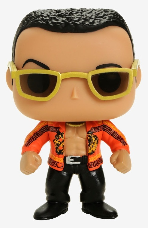Фигурка World Wrestling Entertainment Funko POP WWE: The Rock Old School (9,5 см) iggy pop iggy pop rock action 2 lp