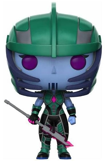 Фигурка Marvel's Guardians Of The Galaxy The Telltale Series Funko POP: Hala The Accuser Bobble-Head (9,5 см) фигурка funko pop bobble marvel black panther nakia