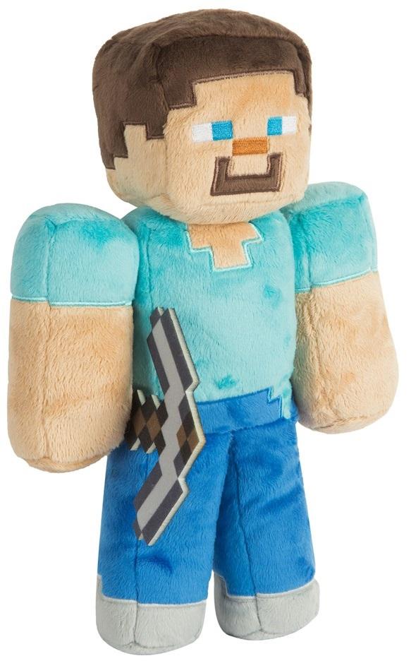 Мягкая игрушка Minecraft: Steve (30 см) mattel games фигурка персонажей minecraft