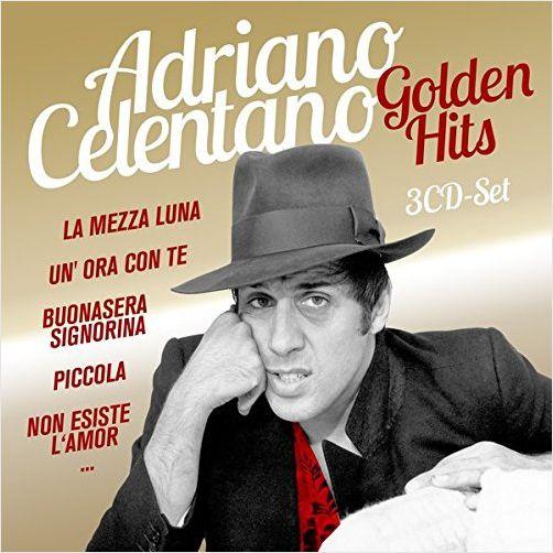 Adriano Celentano – Golden Hits (3 CD) adriano celentano unicamentecelentano deluxe edition 2 cd