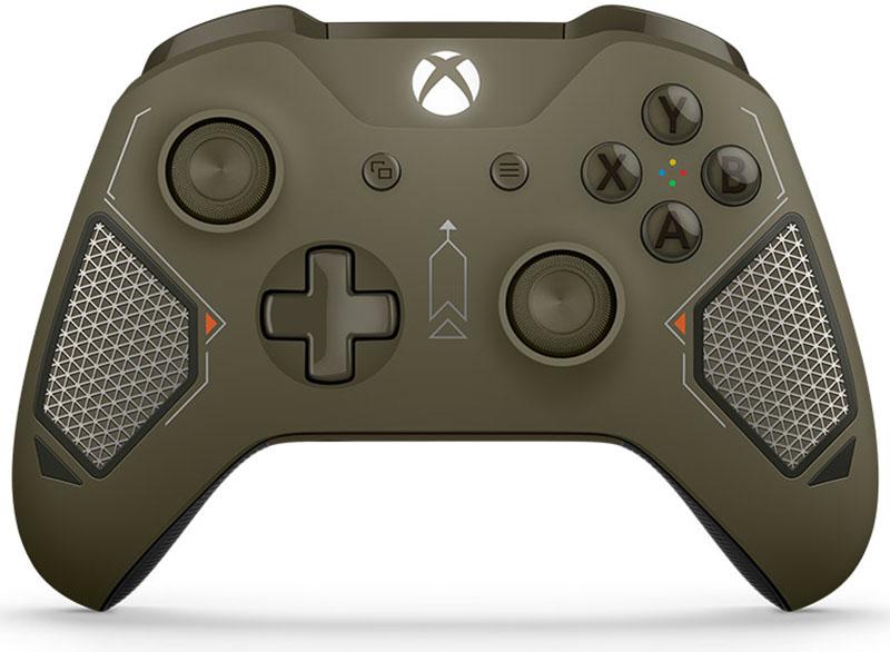 Беспроводной геймпад для Xbox One с 3,5 мм разъемом и Bluetooth (Combat Tech) геймпад microsoft xbox one в раскраске combat tech