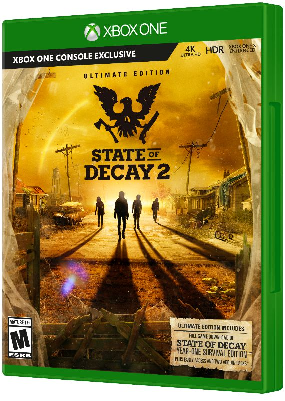 State of Decay 2. Ultimate Edition [Xbox One] игра gears of war ultimate edition для xbox one