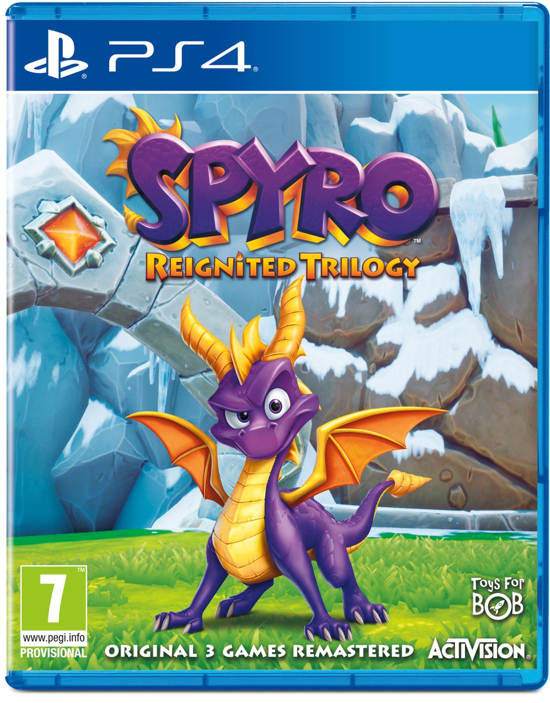 Spyro Reignited Trilogy [PS4] фото