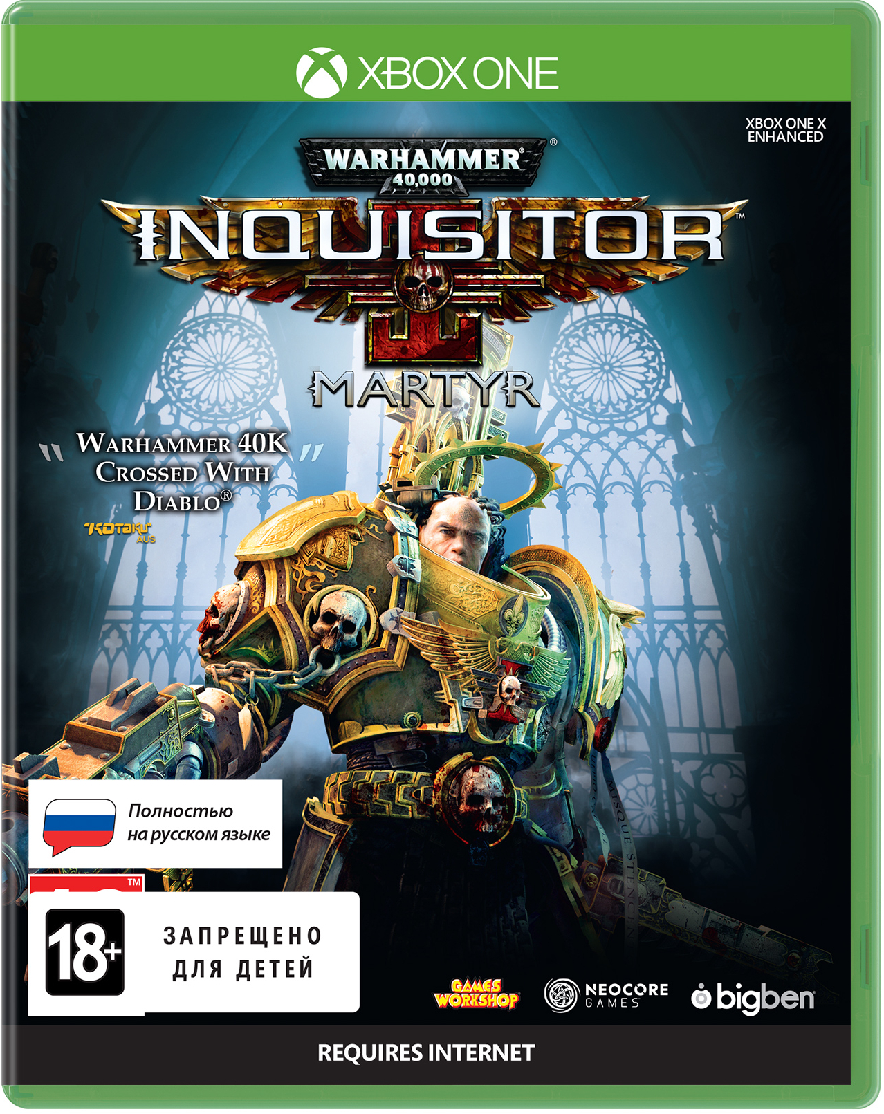 Warhammer 40,000: Inquisitor – Martyr [Xbox One] bigben interactive xb1hdmiflat
