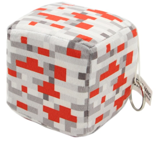 Мягкая игрушка Куб: Redstone Ore (10 см) светильник think geek minecraft redstone ore n00313