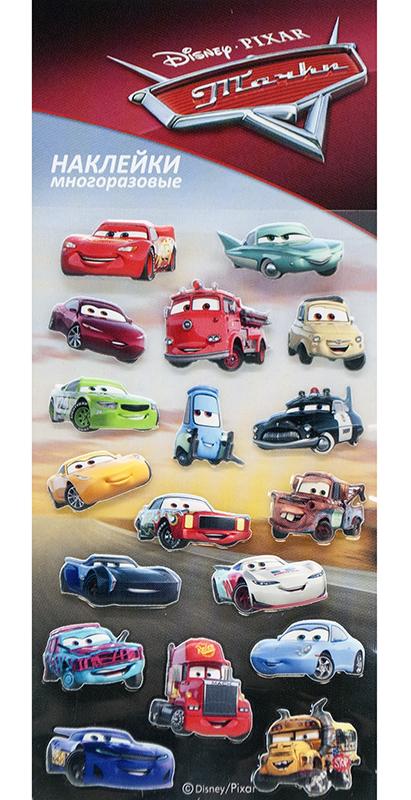 Набор стикеров Disney Тачки 1Многоразовые стикеры Disney Тачки 1 приносят пользу детям и их родителям &amp;ndash; развивают мелкую моторику, учат детей творчеству, вызывают улыбки и положительные эмоции.<br>