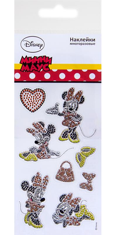 Фото - Набор стикеров Disney Минни Стразы disney игрушка минни