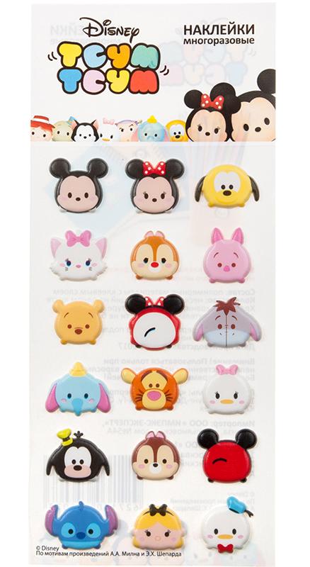 Набор стикеров Disney Тсум Тсум 1Многоразовые стикеры Disney Тсум Тсум 1 приносят пользу детям и их родителям &amp;ndash; развивают мелкую моторику, учат детей творчеству, вызывают улыбки и положительные эмоции.<br>