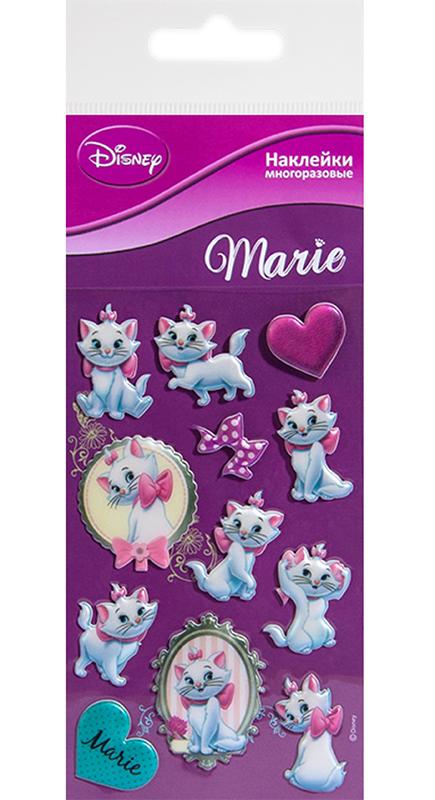 Набор стикеров Disney Мари 1Многоразовые стикеры Disney Мари 1 приносят пользу детям и их родителям &amp;ndash; развивают мелкую моторику, учат детей творчеству, вызывают улыбки и положительные эмоции.<br>