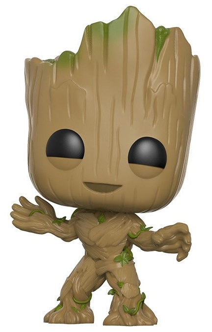 Фигурка Funko POP Marvel: Guardians Of The Galaxy Vol. 2 – Groot Bobble-Head (9,5 см) фигурка funko pop bobble marvel black panther nakia