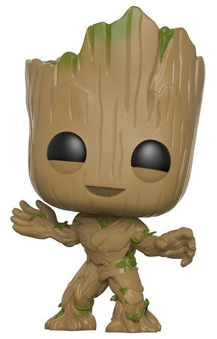 Фигурка Funko POP Marvel: Guardians Of The Galaxy Vol. 2 – Groot Bobble-Head (9,5 см) фигурка funko pop bobble marvel avengers infinity war groot