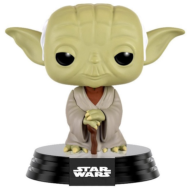 Фигурка Star Wars Funko POP: Dagobah Yoda Bobble-Head (9,5 см) фигурка funko pop bobble marvel black panther nakia