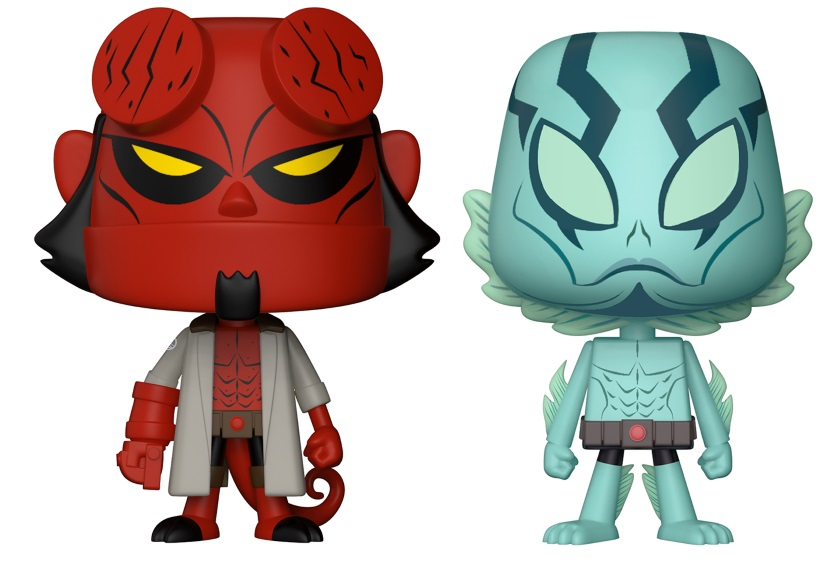 Фигурка Hellboy VYNL: Hellboy And Abe Sapien hellboy the art of hellboy