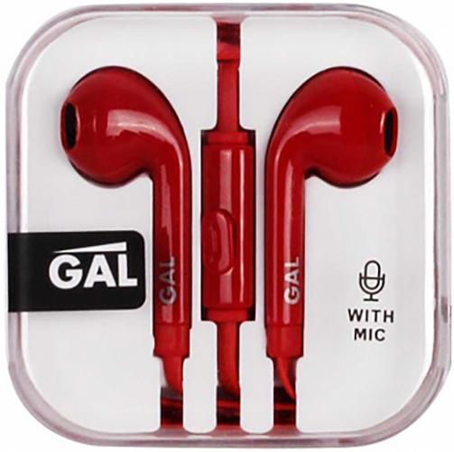 Гарнитура GAL HM-060RD (красный) gal hm 002 black white
