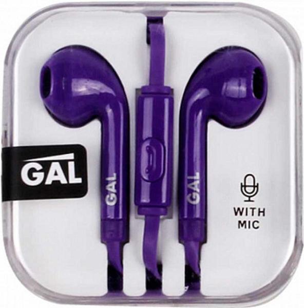 Гарнитура GAL HM-060VL (фиолетовый) gal hm 002 black white