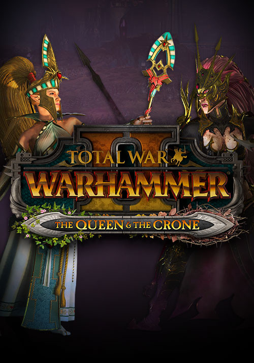 Total War: Warhammer II – The Queen & The Crone. Дополнение [PC, Цифровая версия] (Цифровая версия) total war warhammer зов зверолюдов call of the beastmen дополнение [pc цифровая версия] цифровая версия