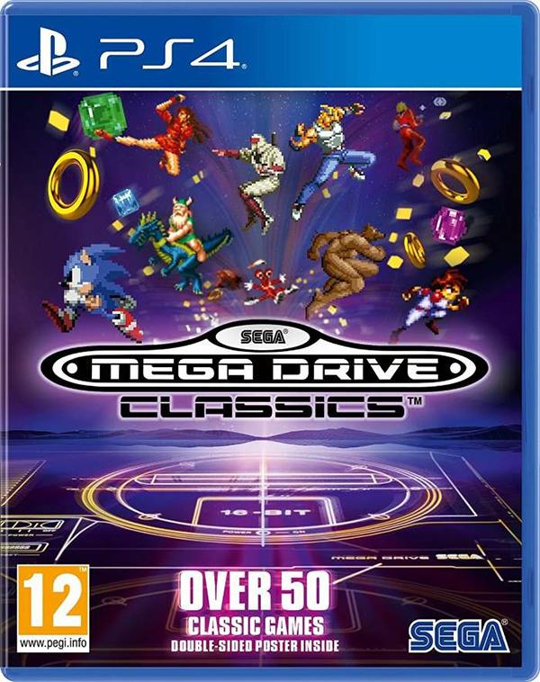 SEGA Mega Drive Classics [PS4] sega