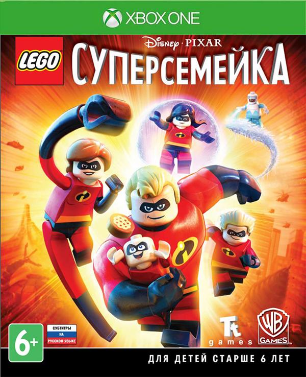 LEGO Суперсемейка [Xbox One]В игре LEGO Суперсемейка вы окажетесь в эпицентре событий захватывающей истории, которая развернется в обширном мире игры, включающем и Мюнисайберг, и Новый Урбем.<br>