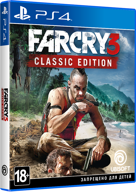 Far Cry 3. Classic Edition [PS4] sleeping dogs definitive edition игра для ps4